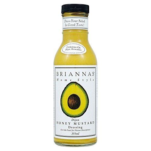 Briannas Home Style Dijon Honey Mustard Dressing (355ml) - Pack of (Honey Dijon Dressing)
