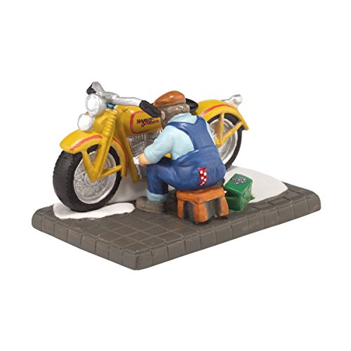 Department 56 Christmas in the City Village The Perfect Exhaust Note Accessory Figurine, 2 inch