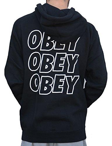 Obey Lo-fi Po Fleece Sudadera hombre negro