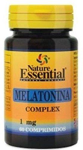 Melatonina 1 mg. complex 60 comprimidos con pasiflora, amapola californiana,melisa, tila y valeriana
