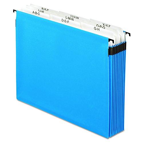 Pendaflex 59225 Nine-Section Hanging Folder, 5 1/4