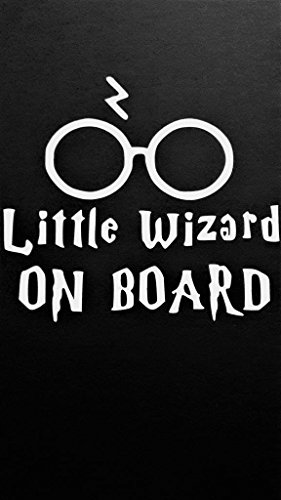Harry Potter Inspired Baby on Board Wizard Vinyl Decal Stick