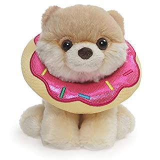 """GUND Boo World's Cutest Dog Itty Bitty Boo Donut Plush Stuffed Animal, 5"""""""