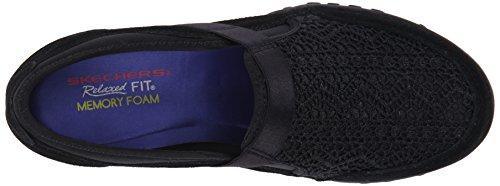 Skechers Breathe Easy Our Song Ladies Shoe Black 4.5
