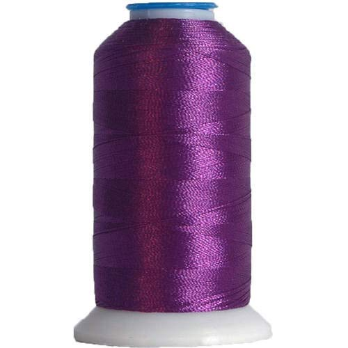 (Threadart Polyester Machine Embroidery Thread By the Spool - No. 488 - Iris - 1000M - 40wt - 220 Colors)