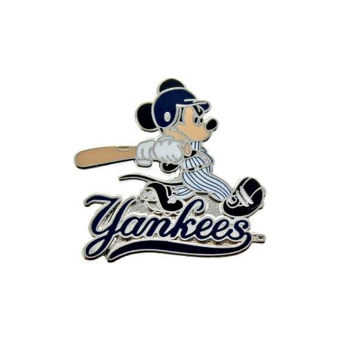 MLB New York Yankees Disney Mickey Batting 2 Collectible Trading Pin