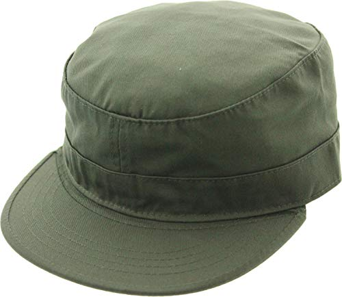 - Army Universe Military Field Patrol Camouflage Cap Adjustable Tactical Fatigue Hat (Olive Drab)