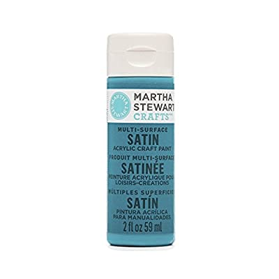 Martha Stewart Multi-Surface Satin Acrylic Paint: Peacock Feather, 2 oz: Arts, Crafts & Sewing