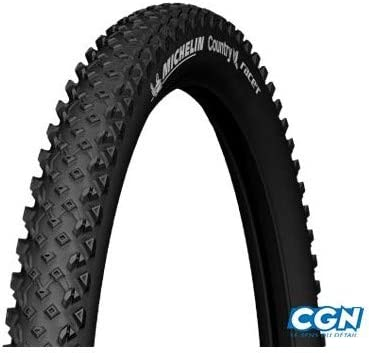 Michelin 537359 Cubierta, Fahrradreifen Country Race R, Schwarz ...