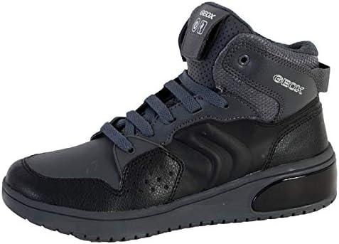Geox C0005 Black/DK Grey Scarpa Bambino Sneakers J947QA