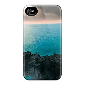 Awesome Island Of Hawaii Flip Case With Fashion Design For Iphone 5/5s