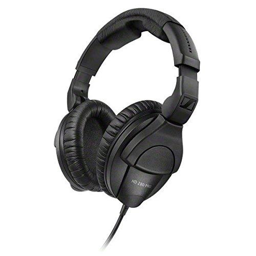 Sennheiser HD 280 Pro - Auriculares de diadema cerrados, color negro