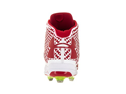 Wht Mid DT Armour UA Men's Red Under Cleat Deception Baseball xwqzaIIpH
