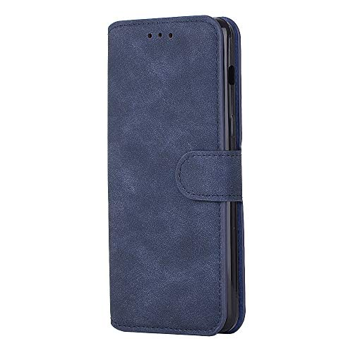 ung Galaxy A5,Slim 2 in 1 PU Leather Flip Protective Cover with Card Slots for A7 (Blue, Samsung Galaxy A7) ()