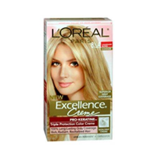 L'Oreal Paris Excellence Créme Permanent Hair Color, Champagne Blonde [8.5A] 1 ea -  PPAX1162085