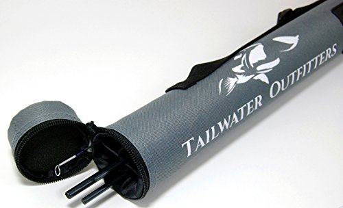 Tailwater Outfitters Toccoa Fly Rod: High Performance 4 piece, Fast Action IM8 Graphite With Rod Tube. (8 weight)