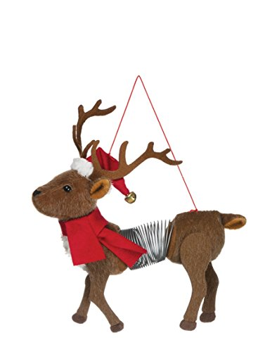 Sullivan's Slinky Reindeer Ornament ()
