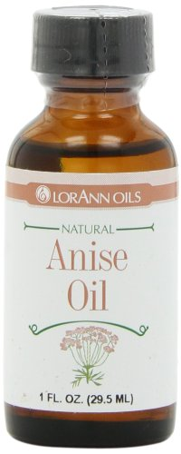 LorAnn Natural Flavoring Oils, Natural Anise Oil, 1 Ounce Bottle