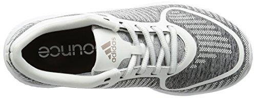 Adidas Athletics B W, Zapatillas para Mujer, Gris (Brgrcl/Grmeva/Ftwbla), 40 EU