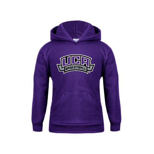 Central Arkansas Youth Purple Fleece Hoodie Basketball