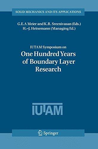 IUTAM Symposium on One Hundred Years of Boundary Layer Research: Proceedings of the IUTAM Symposium held at DLR-Göttinge