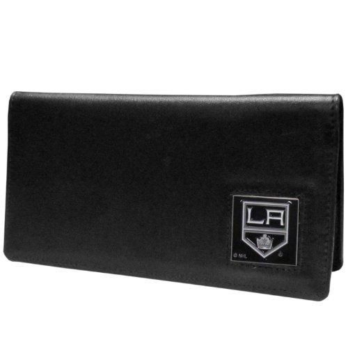 La Kings Memorabilia (NHL Los Angeles Kings Executive Genuine Leather Checkbook Cover)