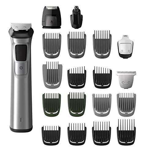Philips Norelco Stainless Steel Multigroom All-in-One Trimmer (Philips Norelco Pouch)
