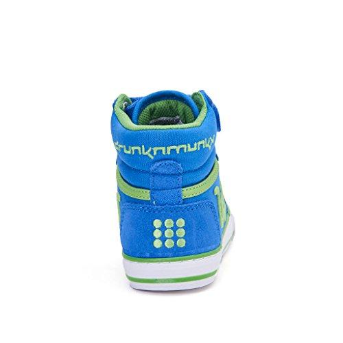 DrunknMunky Boston Vitaminix, Zapatillas de Tenis para Niños Verde