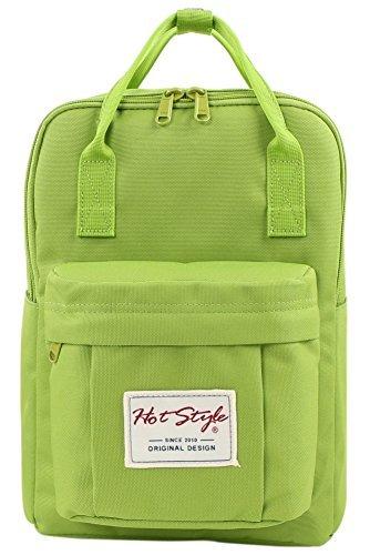 HotStyle Cute Mini Backpack Diaper Bag Small Travel Handbag - YellowGreen [並行輸入品]   B078999VJF
