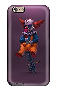 Iphone 6 Hard Back With Bumper Silicone Gel Tpu Case Cover Basement Crawl