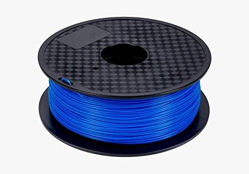 Repko 3D PLA - 1KG 1.75mm Blue PLA 3D Printer Filament, Dimensional Accuracy +/- 0.02 mm, 1 kg Spool, 1.75 mm, Blue