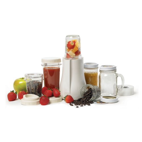 Tribest Distinct-Serving Mason Jar Personal Blender, PB-350