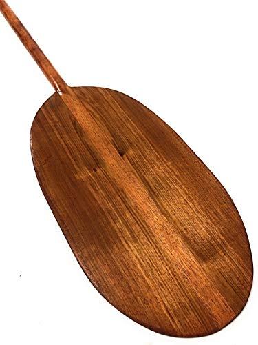 Tikimaster Extra Large Koa Canoe Outrigger Paddle 72