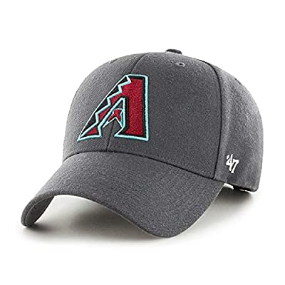 '47 Brand Arizona Diamondbacks MVP Hat Cap Charcoal