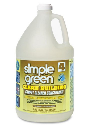 Simple Green 11201 Clean Building Carpet Concentrate Cleaner, 1 Gallon ()