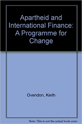 Livres audio gratuits Téléchargements MP3Apartheid and International Finance: A Programme for Change in French PDF FB2 iBook