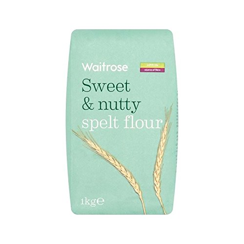 White Spelt Flour Sweet & Nutty Waitrose 1kg - Pack of 6