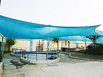 KOKR Sombra Toldo, Multiusos UV Resistente Transpirable Impermeable Toldo para Piscina Jardín Al Aire,2 * 2M: Amazon.es: Deportes y aire libre