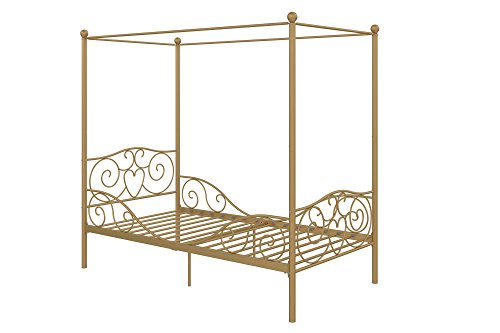 DHP Canopy Metal Bed- Twin 3