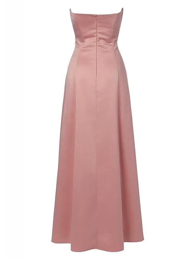 GEORGE DESIGN Formal Elegant Sweetheart Satin Long Evening Dress/Prom Dress/Bridesmaid Dress: Amazon.co.uk: Clothing