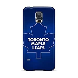 Best Hard Phone covers cases for Happy Christmas andd New Year For Samsung Galaxy S5 (BOF8243MbTP) Support Personal Customs Realistic Toronto Maple Leafs Image