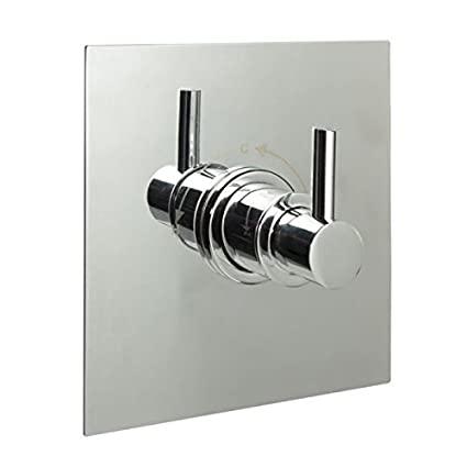Hudson Reed Sequential Shower Faucet Valve With Square Plate Lever