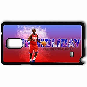 Personalized Samsung Note 4 Cell phone Case/Cover Skin 14742 sixers 11 sm Black