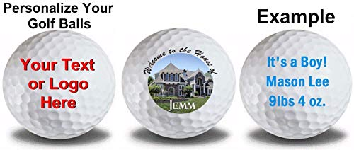 Titleist 2 Dozen 24 Personalized Prov 1 Refinished Golf Balls Upload Your Own Text Or Image