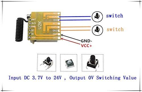 Detective Comics 12 V 315 MHz Fréquence Radio Télécommande sans fil émetteur pour garage gate door