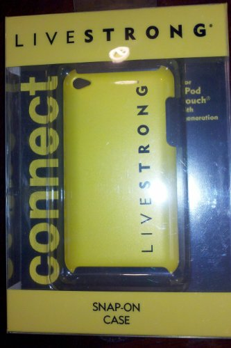 Case Mate Ipod Touch - Livestrong Ipod Touch 4th Generation case