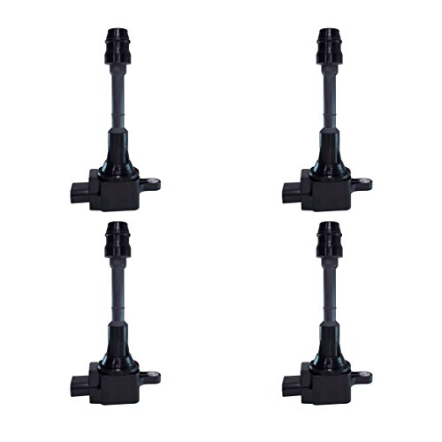 Ignition Coil Kit Set of 4 for Nissan Altima Sentra 2.5L fits UF-350 / UF350 / 224488H315