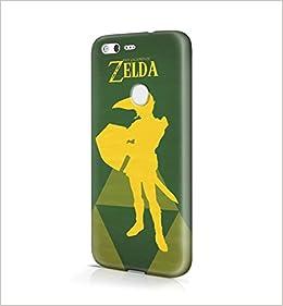 The Legend Of Zelda Link Vector Hard Plastic Snap-On Case