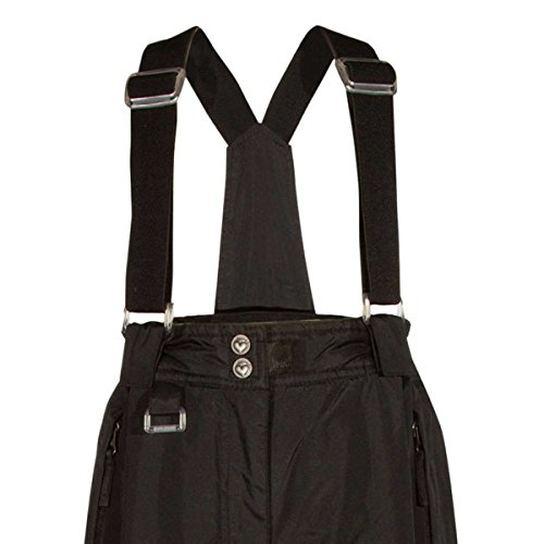 32 DEGREES Weatherproof Girls' Snow Pant (Black, X-Small) by 32 DEGREES (Image #2)