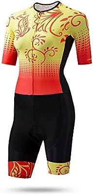 Camisetas de ciclismo Vestido de patinaje for mujer Traje de ...